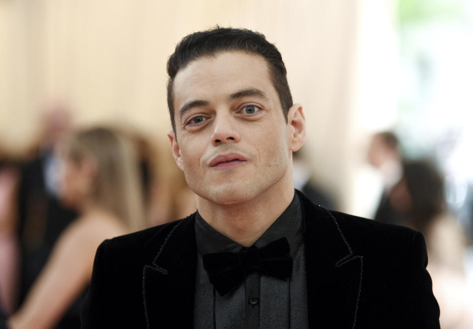 "Rami Malek attends The Metropolitan Museum of Art's Costume Institute benefit gala celebrating the opening of the ""Camp: Notes on Fashion"" exhibition on Monday, May 6, 2019, in New York. (Photo by Evan Agostini/Invision/AP)"