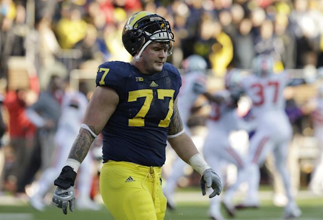 Taylor Lewan said Michigan got too comfortable following win over Notre Dame