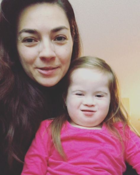 Maria has urged other parents to keep their kids at home. Photo: Instagram