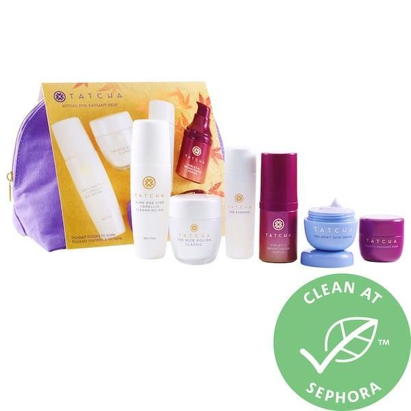 <p>Gift this travel-sized <span>Tatcha Ritual for Radiance</span> ($90) set to someone who is off on a skin-care reset journey.</p>