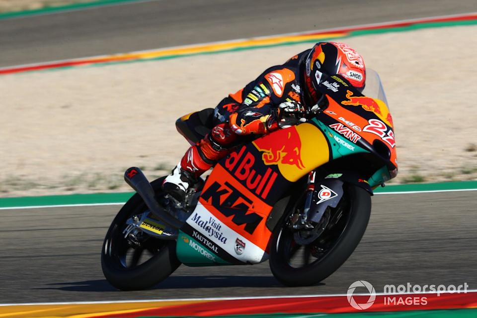"""Kaito Toba, Red Bull KTM Ajo<span class=""""copyright"""">Gold and Goose / Motorsport Images</span>"""