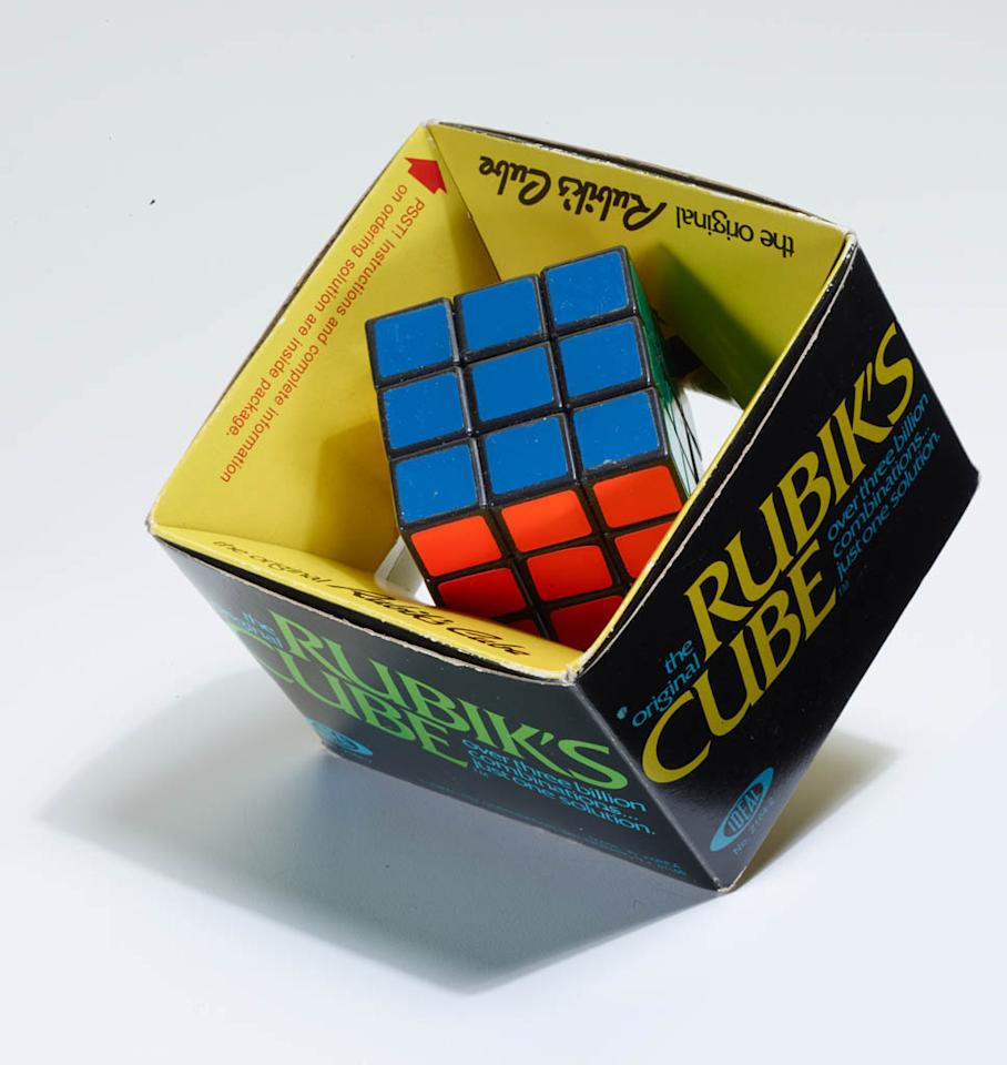 Solving the Rubiks cube was a challenge in the 1980s.