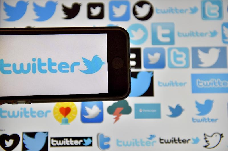 Shares in Twitter took a 12.4 percent dive after the social network reported sluggish revenue and user growth (AFP Photo/LOIC VENANCE)