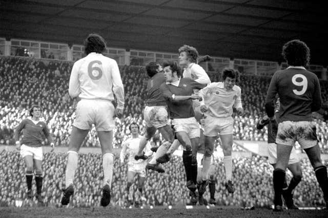 Gordon McQueen was part of Leeds' famous squad of the 1970s