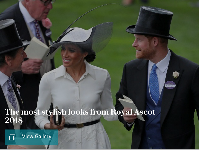 The most stylish looks from Royal Ascot 2018