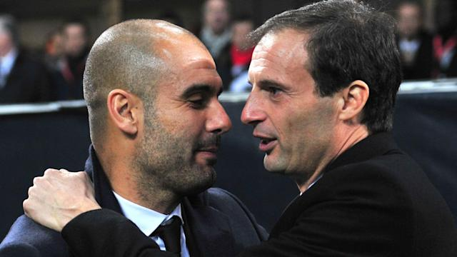 "Manchester City have dismissed rumours of Pep Guardiola joining Juventus as ""nonsense"" but Massimiliano Allegri has fuelled speculation."