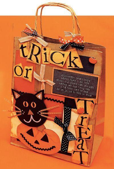 """<p>Make trick-or-treating extra fun by putting together these custom candy bags. </p><p><strong><em><a href=""""https://www.womansday.com/home/crafts-projects/a28914953/trick-or-treat-bag/"""" rel=""""nofollow noopener"""" target=""""_blank"""" data-ylk=""""slk:Get the Trick or Treat Bag tutorial"""" class=""""link rapid-noclick-resp"""">Get the Trick or Treat Bag tutorial</a>. </em></strong></p><p><a class=""""link rapid-noclick-resp"""" href=""""https://www.amazon.com/Rubber-Stamps-Alphabet-Inches-Pieces/dp/B088NCBHCC?tag=syn-yahoo-20&ascsubtag=%5Bartid%7C10070.g.2488%5Bsrc%7Cyahoo-us"""" rel=""""nofollow noopener"""" target=""""_blank"""" data-ylk=""""slk:SHOP FOAM LETTER STAMPS"""">SHOP FOAM LETTER STAMPS</a></p>"""