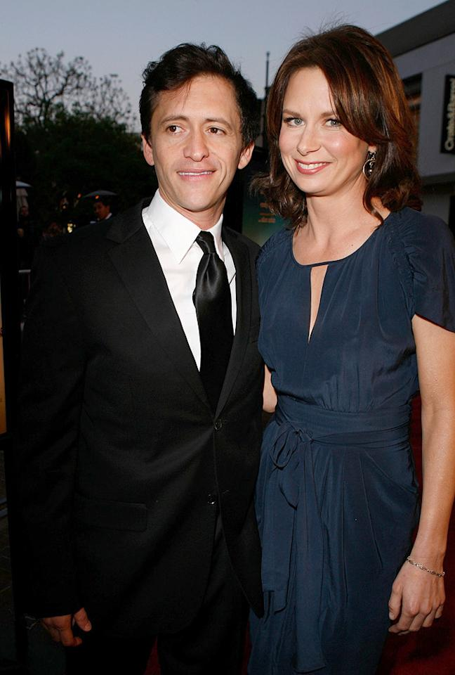 """<a href=""""http://movies.yahoo.com/movie/contributor/1800350330"""">Clifton Collins Jr.</a> and <a href=""""http://movies.yahoo.com/movie/contributor/1804501768"""">Mary Lynn Rajskub</a> at the Los Angeles premiere of <a href=""""http://movies.yahoo.com/movie/1809823943/info"""">Sunshine Cleaning</a> - 03/09/2009"""