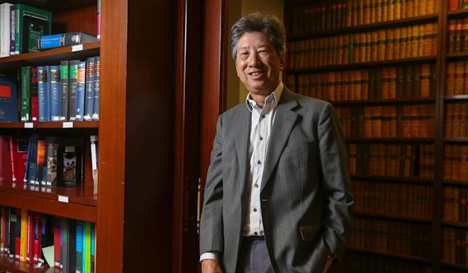 Former Bar Association chairman Ronny Tong noted the law under which activist Tam Tak-chi was arrested was more lenient than the national security law. Photo: Xiaomei Chen