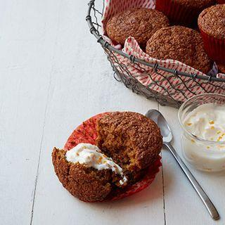 """<p>If you have to be healthy, do not sacrifice pumpkin. Or muffins.</p><p>Get the recipe from <a rel=""""nofollow"""" href=""""http://www.delish.com/cooking/recipe-ideas/recipes/a35782/pumpkin-bran-muffins-recipe-wdy1013/"""">Delish</a>.</p>"""