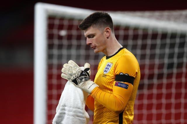 Nick Pope started in all three of England's World Cup qualifiers in March