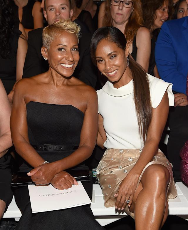 """<span class=""""s1"""">Adrienne Banfield-Norris, left, and daughter Jada Pinkett Smith.</span>(Photo: Getty Images)"""