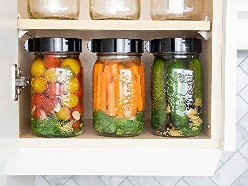 """Youcan use these with an array of jars to bring some scientific fun into your next cooking sesh. You'll be making your own pickles and kimchi in no time!<br /><br /><strong>Promising review:</strong>""""I am a first time fermenter and was very pleased with this kit. I made dill pickles and some mixed veggies (cauliflower, carrots, onions, and green beans). They all turned out yummy. I used <a href=""""https://www.amazon.com/dp/B08925SRMM"""" target=""""_blank"""" rel=""""noopener noreferrer"""">half gallon jars</a> and the glass weights, and didn't have any mold problems! I was not prepared for the smells though. Love this product as it makes it so easy to get some tasty probiotics into your gut."""" —<a href=""""https://www.amazon.com/dp/B01DJVVORE?tag=huffpost-bfsyndication-20&ascsubtag=5817703%2C4%2C43%2Cd%2C0%2C0%2C0%2C962%3A1%3B901%3A2%3B900%3A2%3B974%3A3%3B975%3A2%3B982%3A2%2C16180673%2C0"""" target=""""_blank"""" rel=""""noopener noreferrer"""">Claudia Turner</a><br /><br /><strong>Get it from Amazon for <a href=""""https://www.amazon.com/dp/B01DJVVORE?tag=huffpost-bfsyndication-20&ascsubtag=5817703%2C4%2C43%2Cd%2C0%2C0%2C0%2C962%3A1%3B901%3A2%3B900%3A2%3B974%3A3%3B975%3A2%3B982%3A2%2C16180673%2C0"""" target=""""_blank"""" rel=""""noopener noreferrer"""">$25.99</a>.</strong>"""