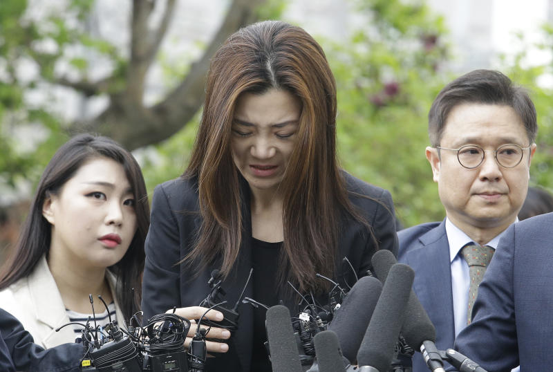 Ex-Korean Air heiress in infamous 'nut rage' case faces divorce battle