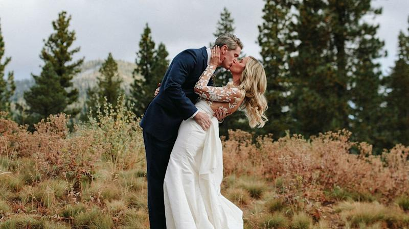 A Unique Color Palette and Elevated Rustic Details Made This Mountain Wedding Anything but Average