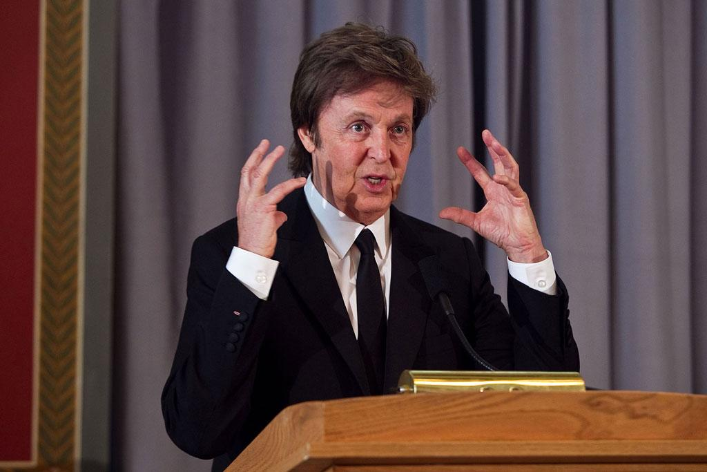 """The Beatles' Paul McCartney was also lauded this week. The music legend (who already has his knighthood) received The Library of Congress' third Gershwin Prize for Popular Song in Washington, DC, Tuesday. Paul Morigi/<a href=""""http://www.wireimage.com"""" target=""""new"""">WireImage.com</a> - June 1, 2010"""