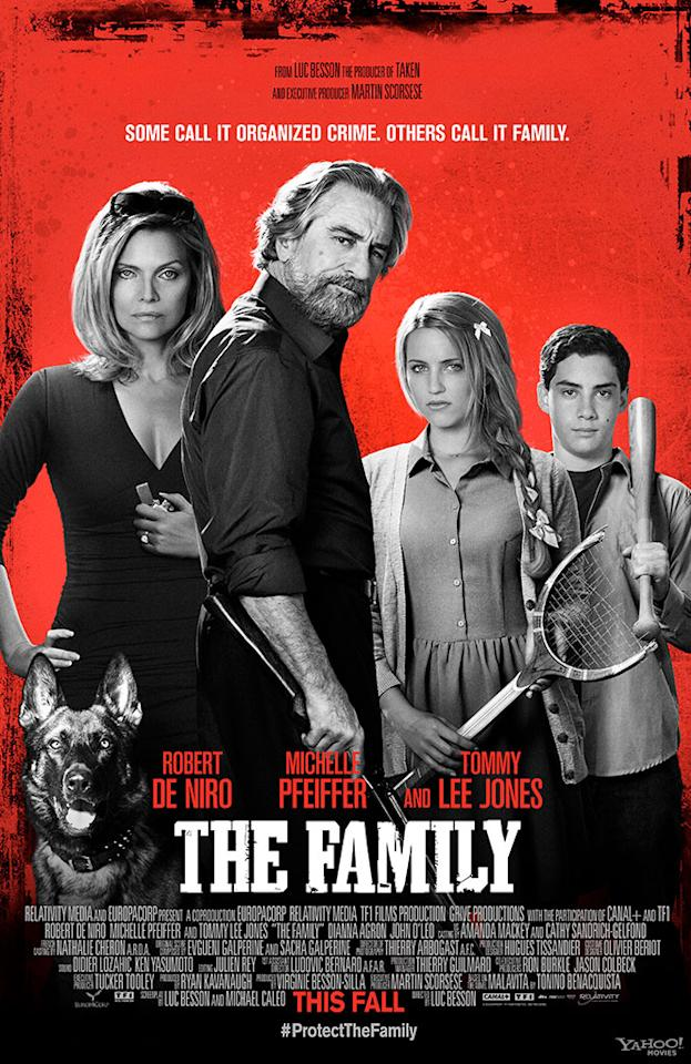 "Robert De Niro and Michelle Pfeiffer star in Relativity Media's ""The Family"" - 2013"