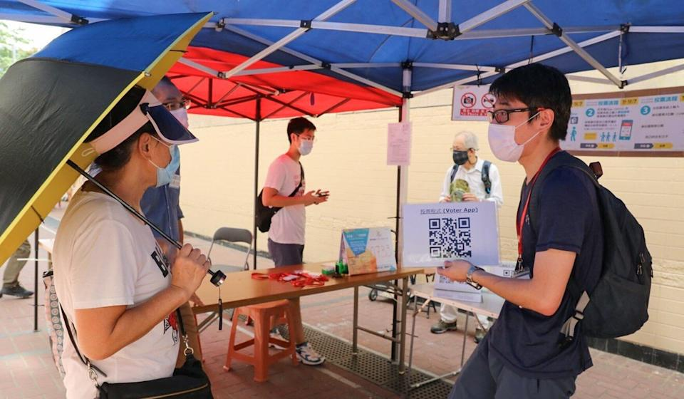 About 250 polling stations were set up across the city. Photo: Dickson Lee
