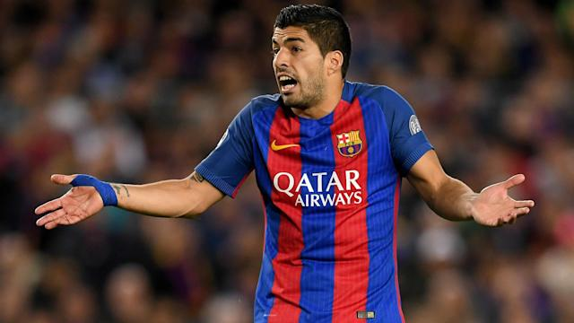 Luis Suarez Barcelona Champions League