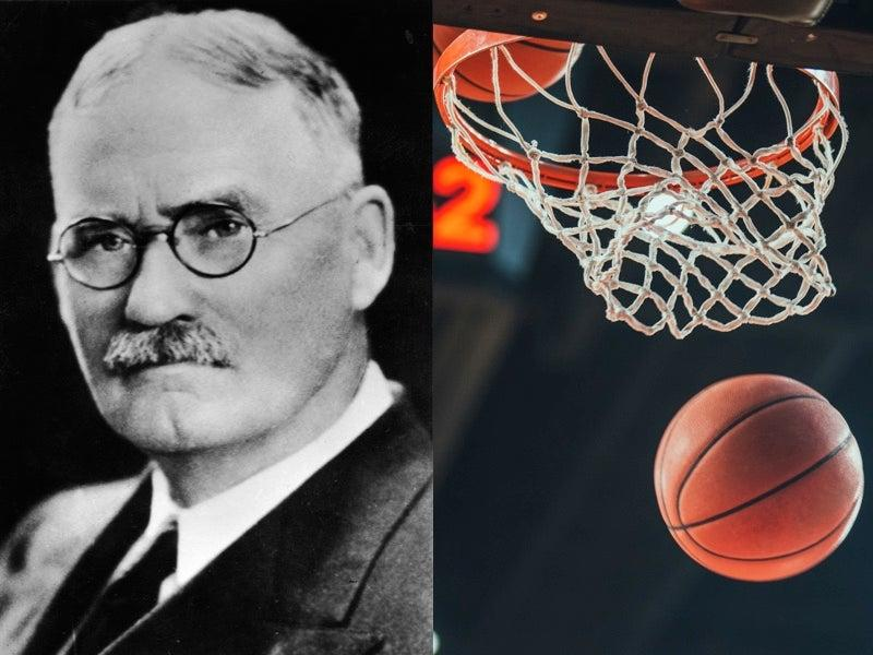 Basketball founder James Naismith honoured with Google Doodle  (Getty)
