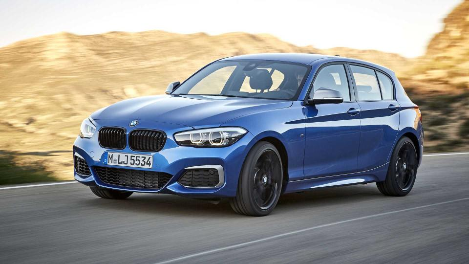 BMW 1 Series Facelift 2017