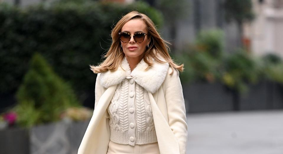 Amanda Holden has already started putting her festive decorations up. (Getty Images)