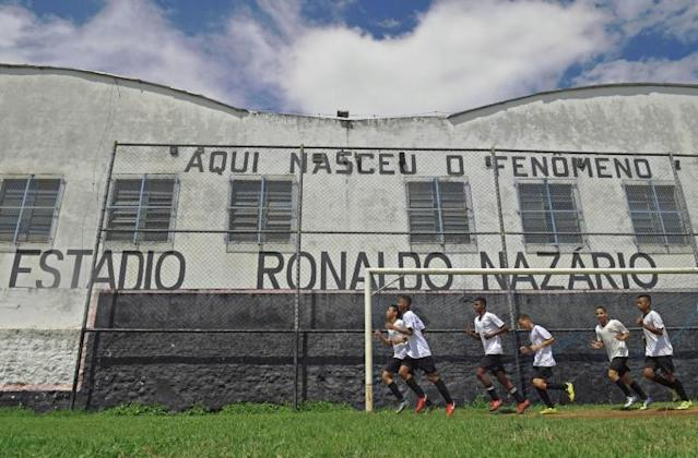 The modest Sao Cristovao football club in Rio de Janeiro launched the World Cup-winning career of Brazil's Ronaldo