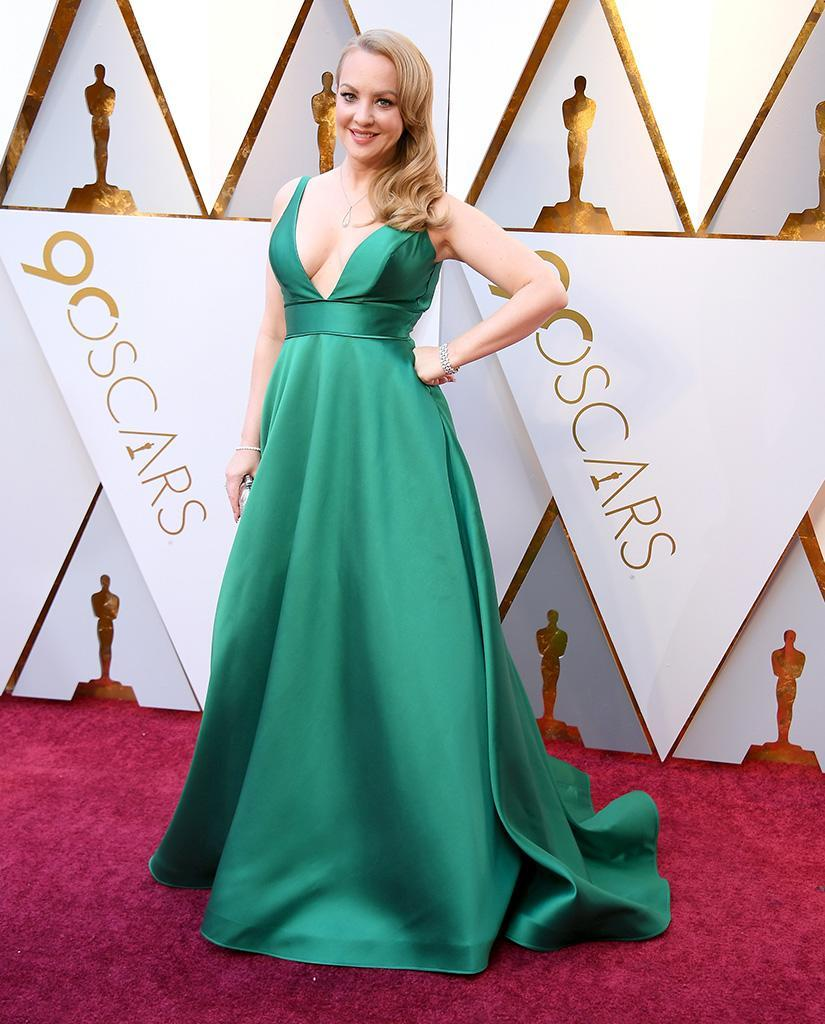 <p>Wendi McLendon-Covey attends the 90th Academy Awards in Hollywood, Calif., March 4, 2018. (Photo: Steve Granitz/WireImage) </p>