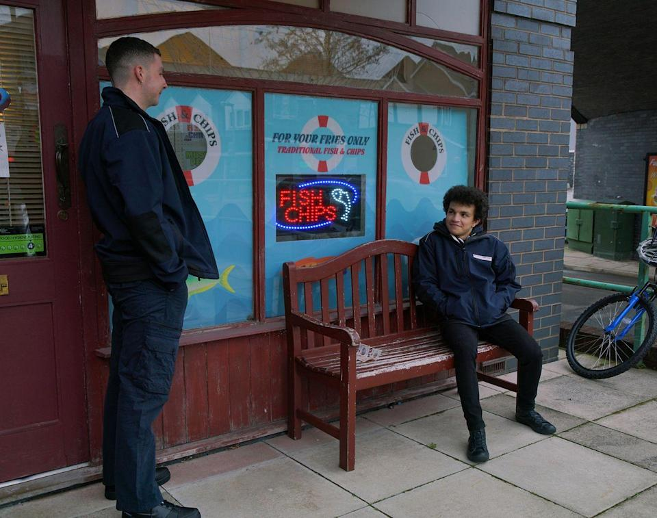 <p>When Simon admits that his family is struggling financially, Jacob offers to lend him £60.</p>