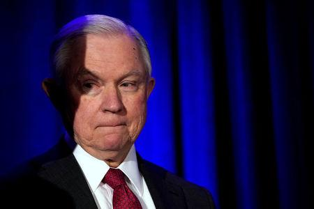 U.S. Attorney General Jeff Sessions attends the National Sheriffs Association Winter Conference in Washington