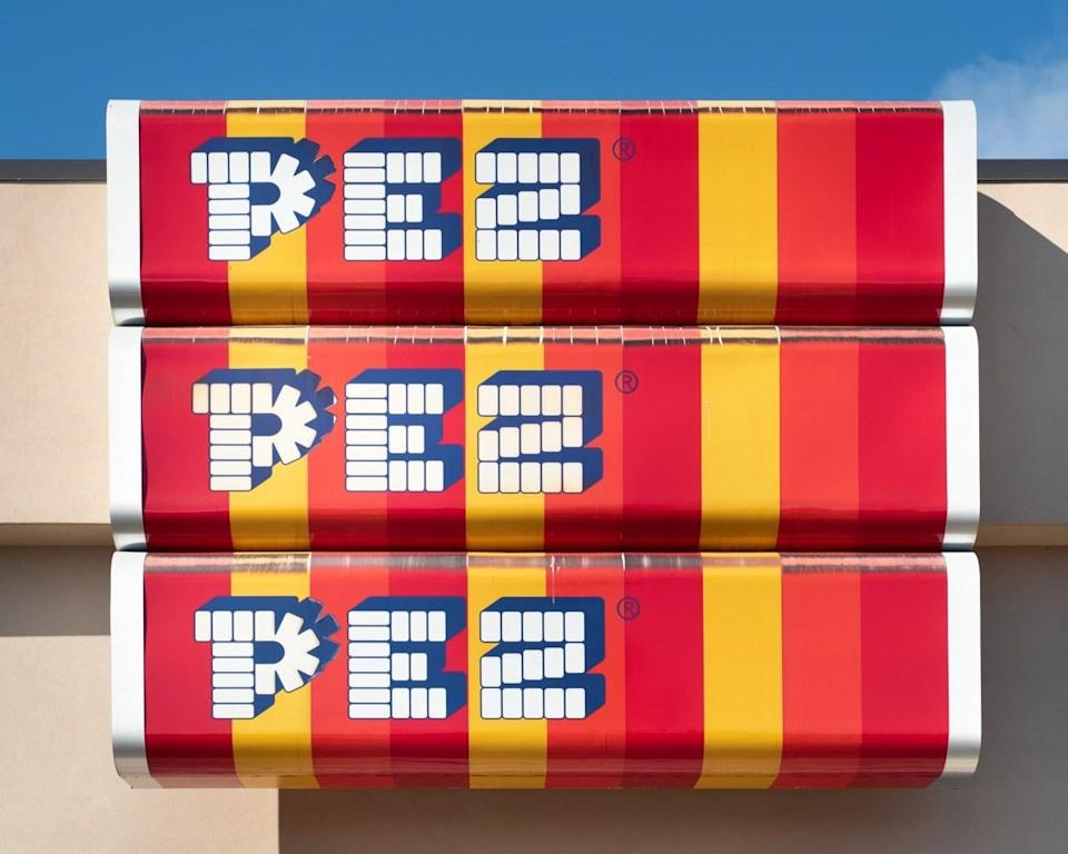 """When <a href=""""https://us.pez.com/pages/history"""" rel=""""nofollow noopener"""" target=""""_blank"""" data-ylk=""""slk:PEZ was first created"""" class=""""link rapid-noclick-resp"""">PEZ was first created</a> in 1927 by <strong>Eduard Haas III</strong> in Vienna, Austria, it wasn't intended to be the tiny treats that pop out of creatively-shaped (and highly collectible) dispensers that we know and love today. Instead, they were mint-flavored candies that were meant to be something that you put in your mouth so that you wouldn't smoke a cigarette."""