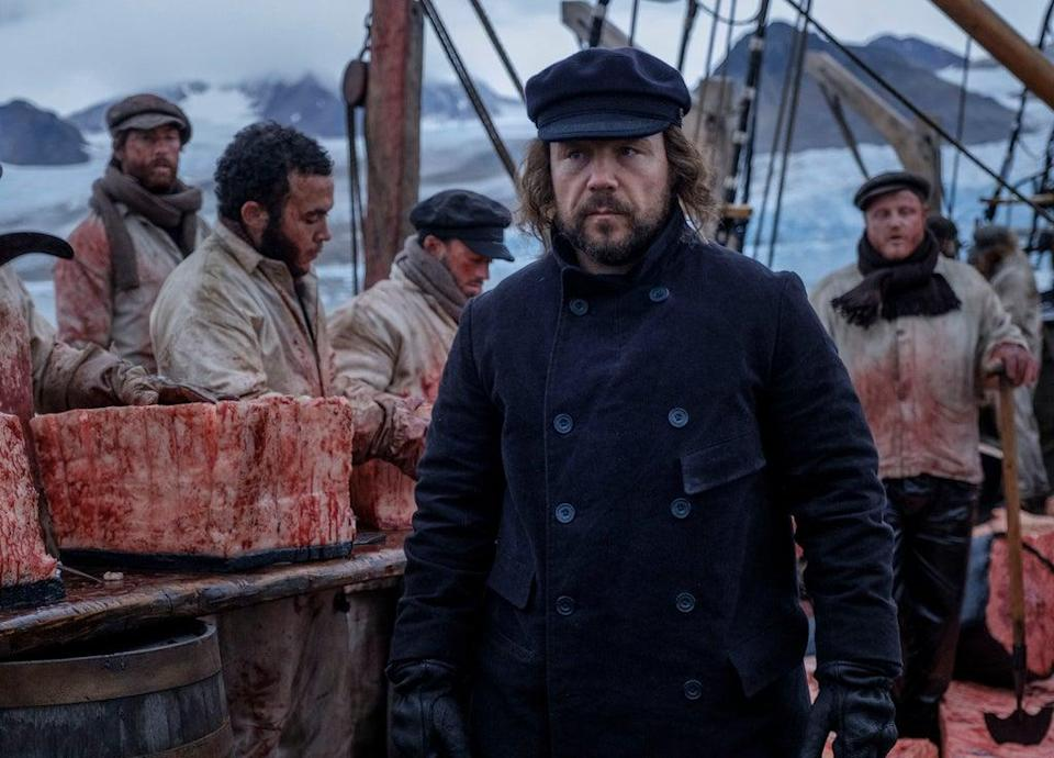 Stephen Graham as Captain Brownlee (BBC/See-Saw Films/Nick Wall)