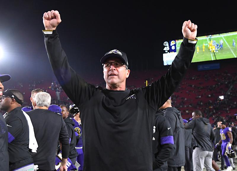 John Harbaugh's longevity and willingness to embrace change has been great for the Baltimore Ravens. (Photo by Jayne Kamin-Oncea/Getty Images)