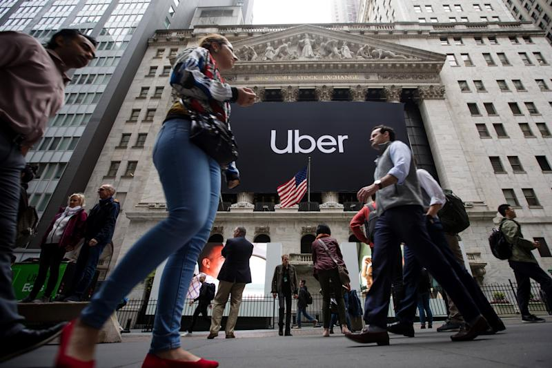 Uber slips below US$70 billion valuation on first day trades
