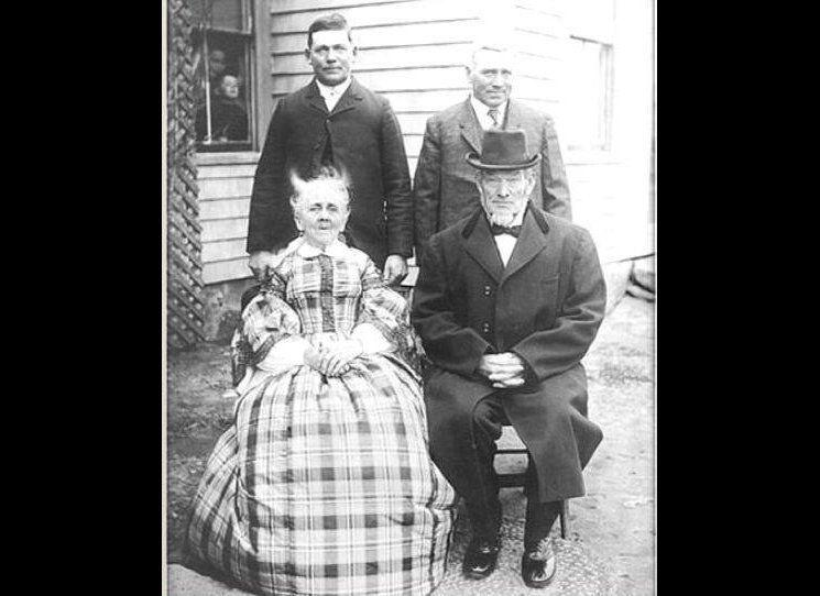 """The term """"photobomb"""" is only about 10 years old, but Jenkins believes the activity dates back since the invention of the camera, as this photo from 1880s demonstrates."""