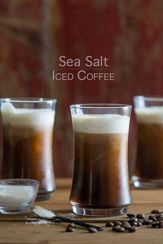 """<p>Use a finishing salt for a salty, sweet combination that enhances the flavor of the coffee.</p><p>Get the tutorial from <a href=""""http://whiteonricecouple.com/recipes/sea-salt-iced-coffee/"""" rel=""""nofollow noopener"""" target=""""_blank"""" data-ylk=""""slk:White on Rice Couple"""" class=""""link rapid-noclick-resp"""">White on Rice Couple</a>.</p>"""