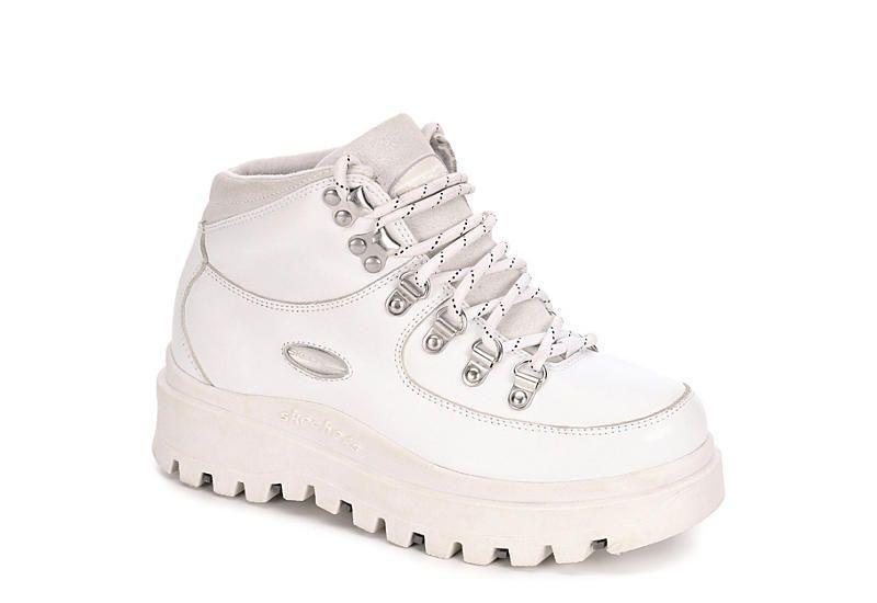 """<p><strong>Skechers</strong></p><p>rackroomshoes.com</p><p><strong>$59.99</strong></p><p><a href=""""https://go.redirectingat.com?id=74968X1596630&url=https%3A%2F%2Fwww.rackroomshoes.com%2Fp%2Fshindigs%2F330048&sref=https%3A%2F%2Fwww.marieclaire.com%2Ffashion%2Fg32185174%2Fugly-shoes%2F"""" rel=""""nofollow noopener"""" target=""""_blank"""" data-ylk=""""slk:Shop Now"""" class=""""link rapid-noclick-resp"""">Shop Now</a></p><p>Just add UFO pants and a baby tee. </p>"""