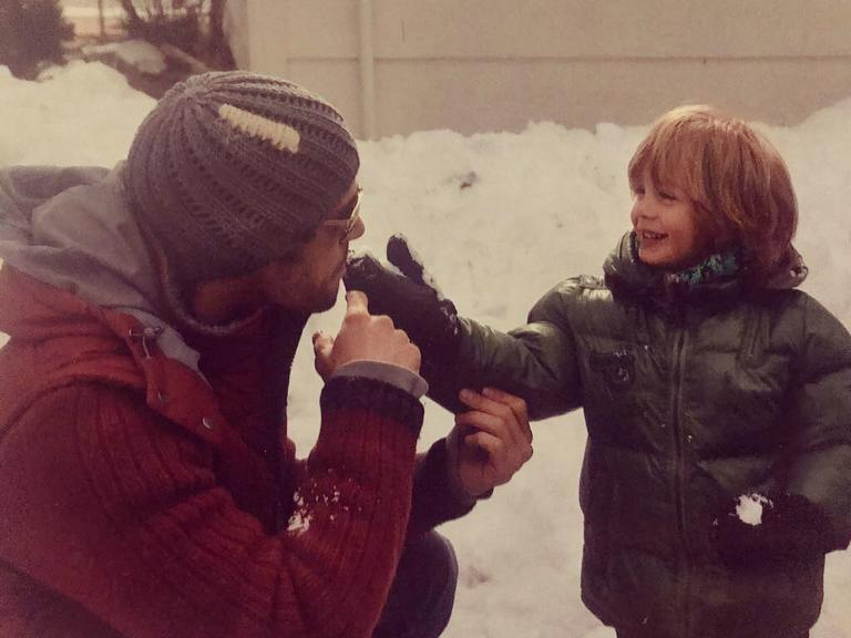 <p>William Levy y su hijo Christopher cuando era un nene/William Levy/Instagram </p>