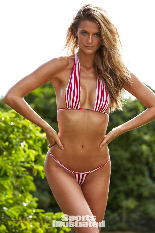 "<p>Kate Bock was photographed by Josie Clough in Nevis. Swimsuit by rebecca for <a href=""https://www.born4bikinis.com/"" rel=""nofollow noopener"" target=""_blank"" data-ylk=""slk:born4bikinis"" class=""link rapid-noclick-resp"">born4bikinis</a>.</p>"