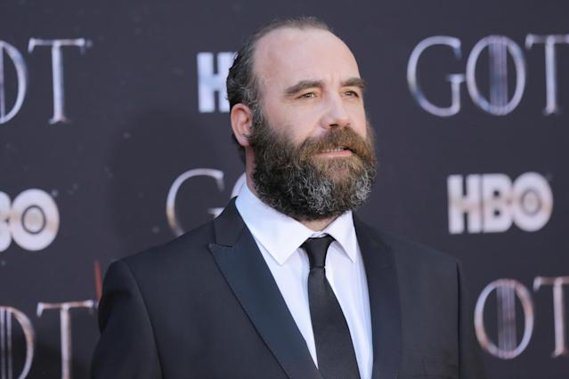 "Rory McCann arrives for the premiere of the final season of ""Game of Thrones"" at Radio City Music Hall in New York, U.S., April 3, 2019. REUTERS/Caitlin Ochs"