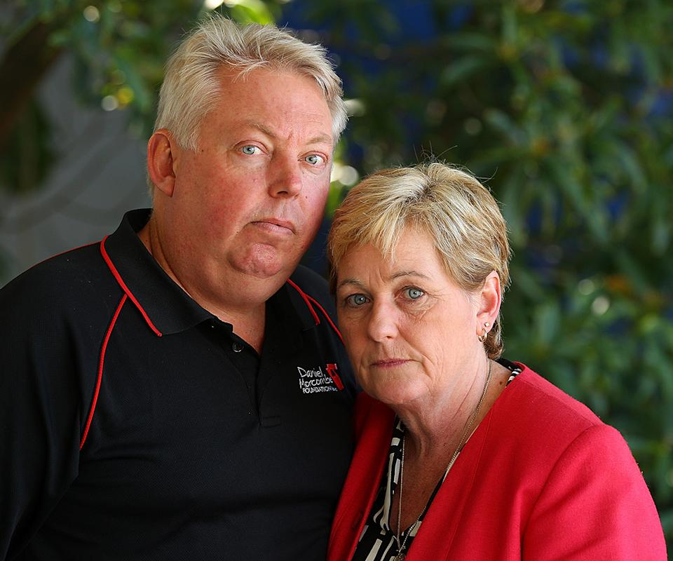 murdered schoolboy Daniel Morcombe's parents Bruce and Denise Morcombe