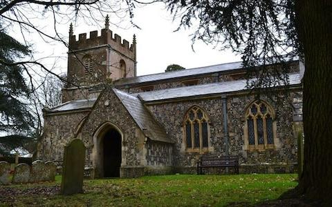 Rev Andy Thewliss wrote a scathing letter to his congregation at All Saints Church in Burbage, Wiltshire