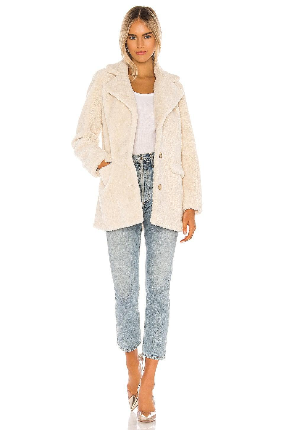 <p>This cozy <span>Camila Coelho Katarina Coat</span> ($208) is perfect for winter.</p>