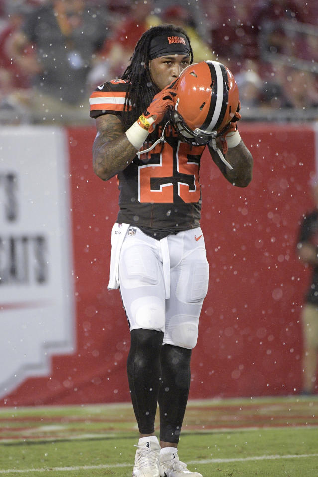 The Browns released S Calvin Pryor on Thursday, reportedly after fighting with a teammate. (AP)