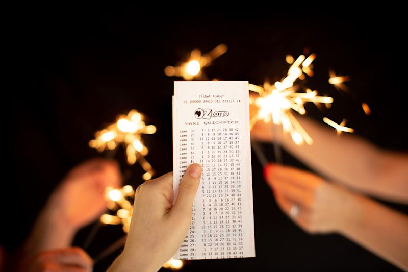 The couple from Sydney found out they had won $5.2 million after almost a week since the winning numbers were announced. Source: The Lott