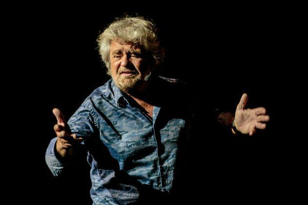 MILAN, ITALY - May 26:  Italian comedian, actor, blogger and political activist Beppe Grillo performs in 'Grillo Vs Grillo' at Teatro degli Arcimboldi on May 26, 2016 in Milan, Italy. Involved in politics since 2009 Grillo is the founder of the Italian Five Star Movement political party. (Photo by Sergione Infuso/Corbis via Getty Images) (Photo: Sergione Infuso - Corbis via Getty Images)