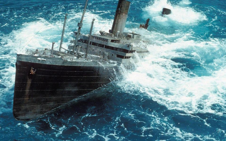 Sunk: the 'state of the art' effects of Raise The Titanic - Rex