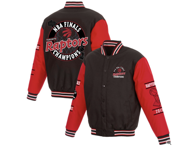 (Toronto Raptors 2019 NBA Finals Champions jacket)