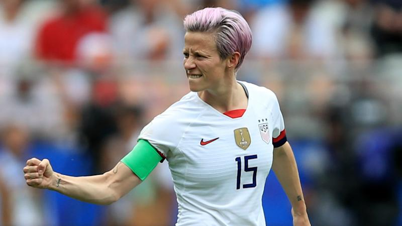U.S. presidential candidate Inslee wants Rapinoe as his secretary of state