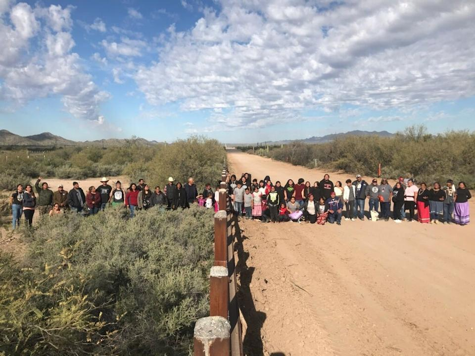 Border barriers have separated tribes whose land spans the US and Mexico, like the Tohono O'odham Nation.Courtesy of Lourdes Pereira